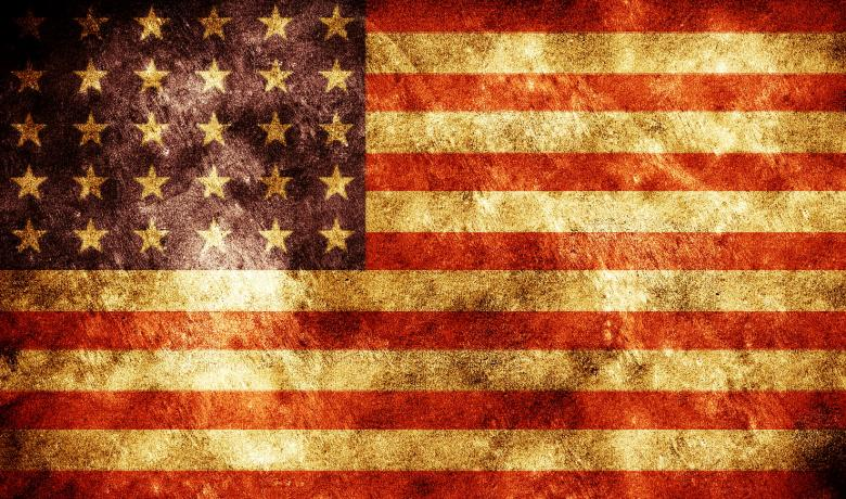 Grunge American Flag Free Stock Photo By 2happy On