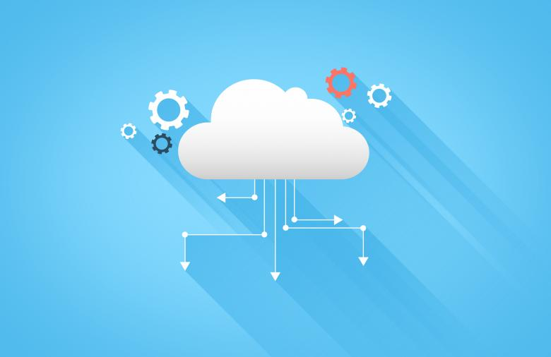 Cloud Computing And Cloud Technology Free Stock Photo By