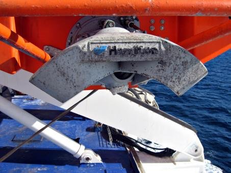Free Stock Photo of Life boat propeller
