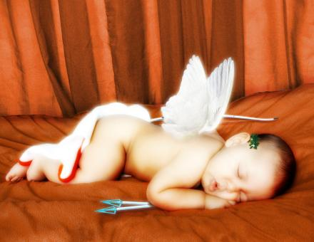 Free Stock Photo of Cupid