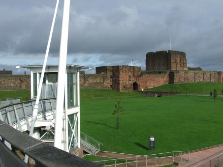 Free Stock Photo of Carlisle castle