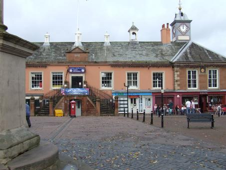 Free Stock Photo of Carlisle town centre