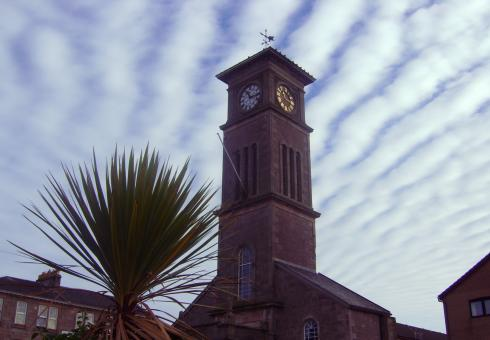 Free Stock Photo of The Clock Tower, Helensburgh