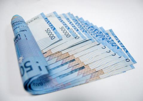 Free Stock Photo of Blue Money