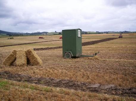 Free Stock Photo of Field Toilet