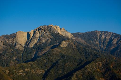 Free Stock Photo of Castle Rock Spire - Sequoia National Par