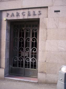 Free Stock Photo of Parcels Entrance