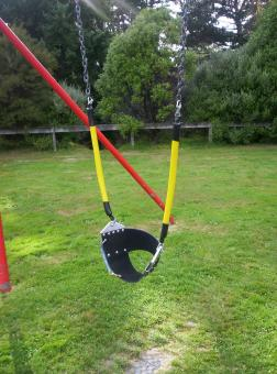 Free Stock Photo of Swing Detail