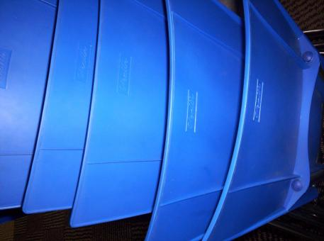 Free Stock Photo of Blue plastic