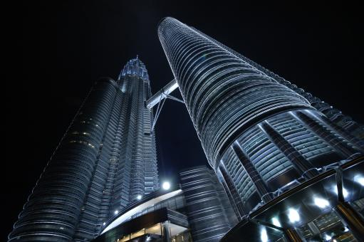 Free Stock Photo of Petronas