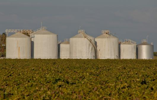 Free Stock Photo of Wine Processing Tanks
