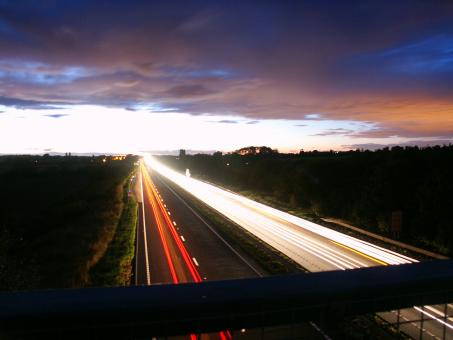 Free Stock Photo of A19 on an early summers evening