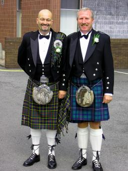 Free Stock Photo of Tartan regalia..