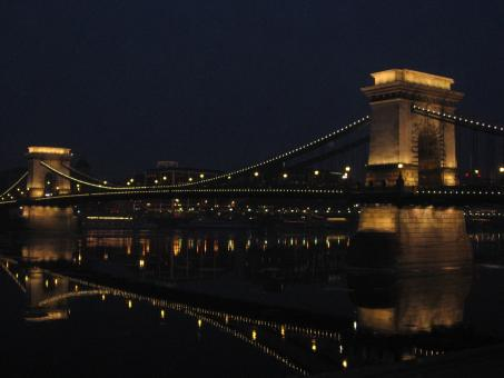 Free Stock Photo of ChainBridge in Budapest