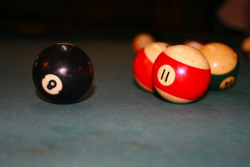 Free Stock Photo of 8 Ball