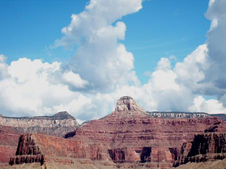 Free Stock Photo of A Grand Canyon View