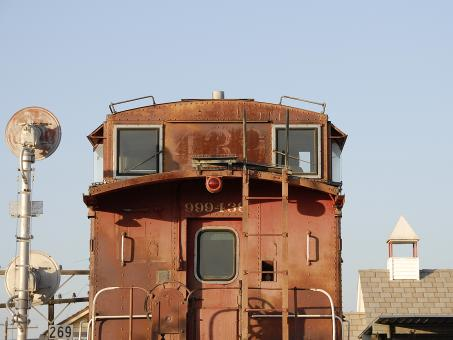 Free Stock Photo of Old Caboose 439