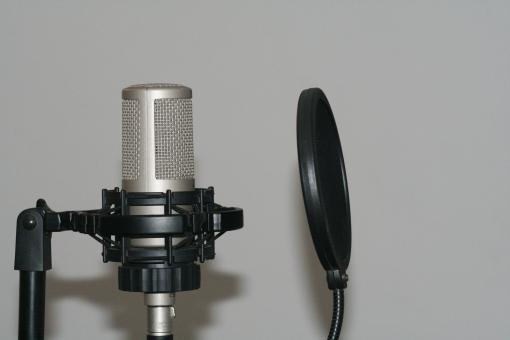 Free Stock Photo of Microphone