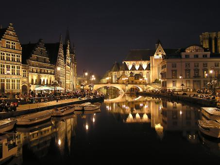 Free Stock Photo of The Heart Of Gent
