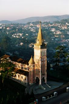 Free Stock Photo of Dalat's church