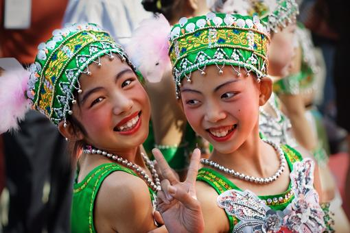 Free Stock Photo of Smiles from China...