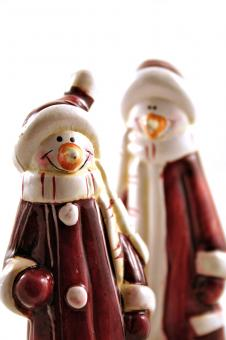 Free Stock Photo of Christmas figures