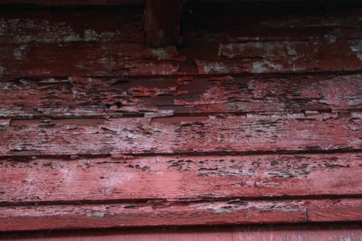 Free Stock Photo of Old Red Wood Texture