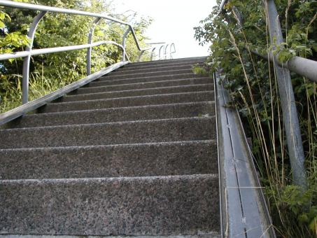 Free Stock Photo of Steep Stairs