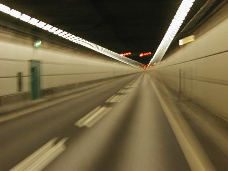 Free Stock Photo of Blurry Tunnel