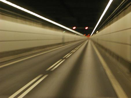 Free Stock Photo of Tunnel Blur