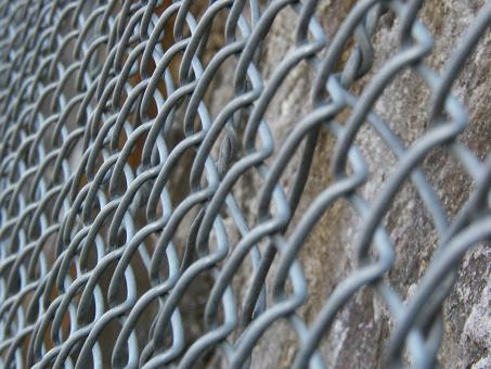 Free Stock Photo of Steel Fence