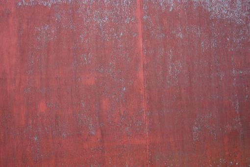 Free Stock Photo of Red Metal Texture