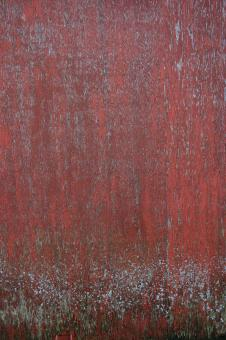 Free Stock Photo of Red Metal Surface