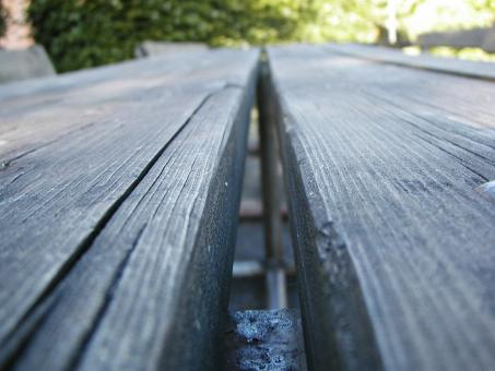 Free Stock Photo of Bench closeup