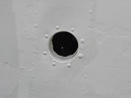 Free Stock Photo of Porthole
