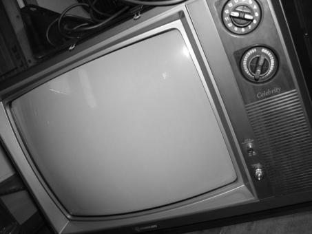Free Stock Photo of Old Television