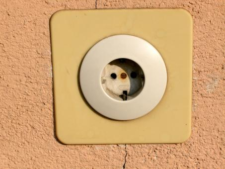 Free Stock Photo of Wall socket