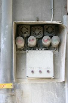 Free Stock Photo of Fuse box