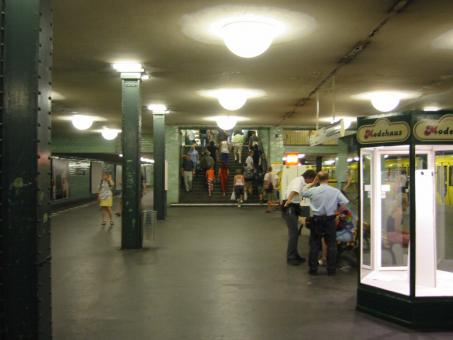 Free Stock Photo of Subway Station
