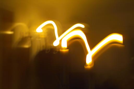 Free Stock Photo of Yellow light