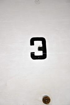 Free Stock Photo of Number three