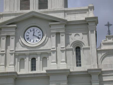Free Stock Photo of Church clock
