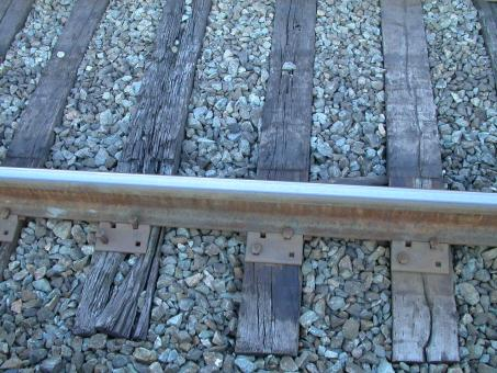 Free Stock Photo of Railway tracks