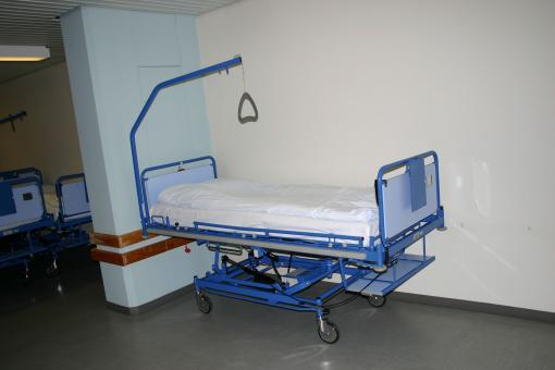 Free Stock Photo of Hospital bed