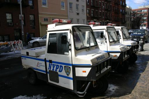 Free Stock Photo of NYPD patrol vehicle