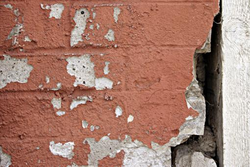 Free Stock Photo of Cracked wall