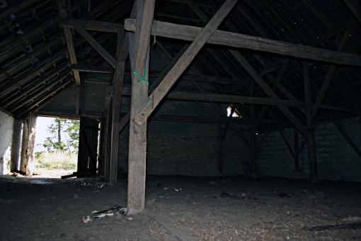 Free Stock Photo of Abandoned Wooden Barn