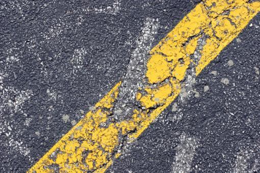 Free Stock Photo of Yellow stripe