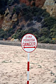 Free Stock Photo of Danger sign