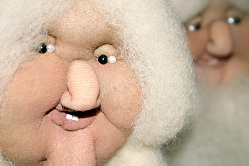 Free Stock Photo of Mrs Santa Close up